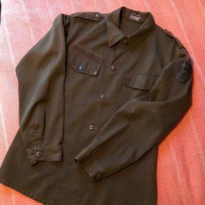 Vintage Austrian Military field jacket! Large-ish